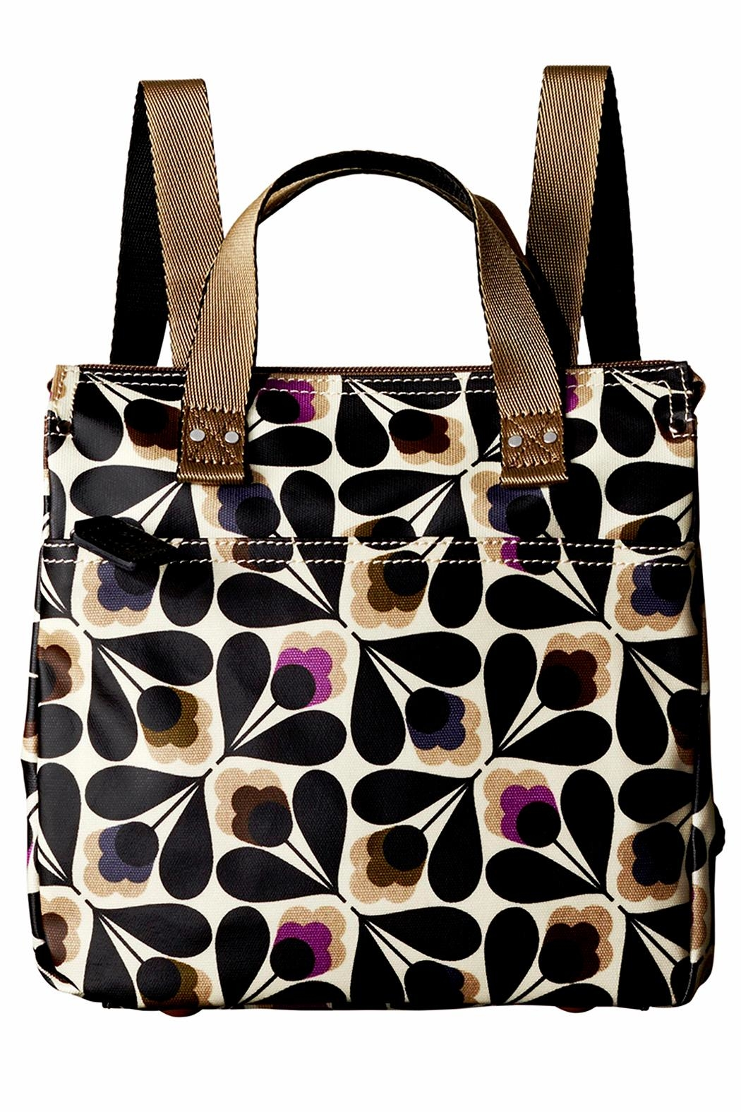 Orla Kiely Sycamore Small Backpack - Front Cropped Image