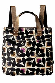 Orla Kiely Sycamore Small Backpack - Front cropped
