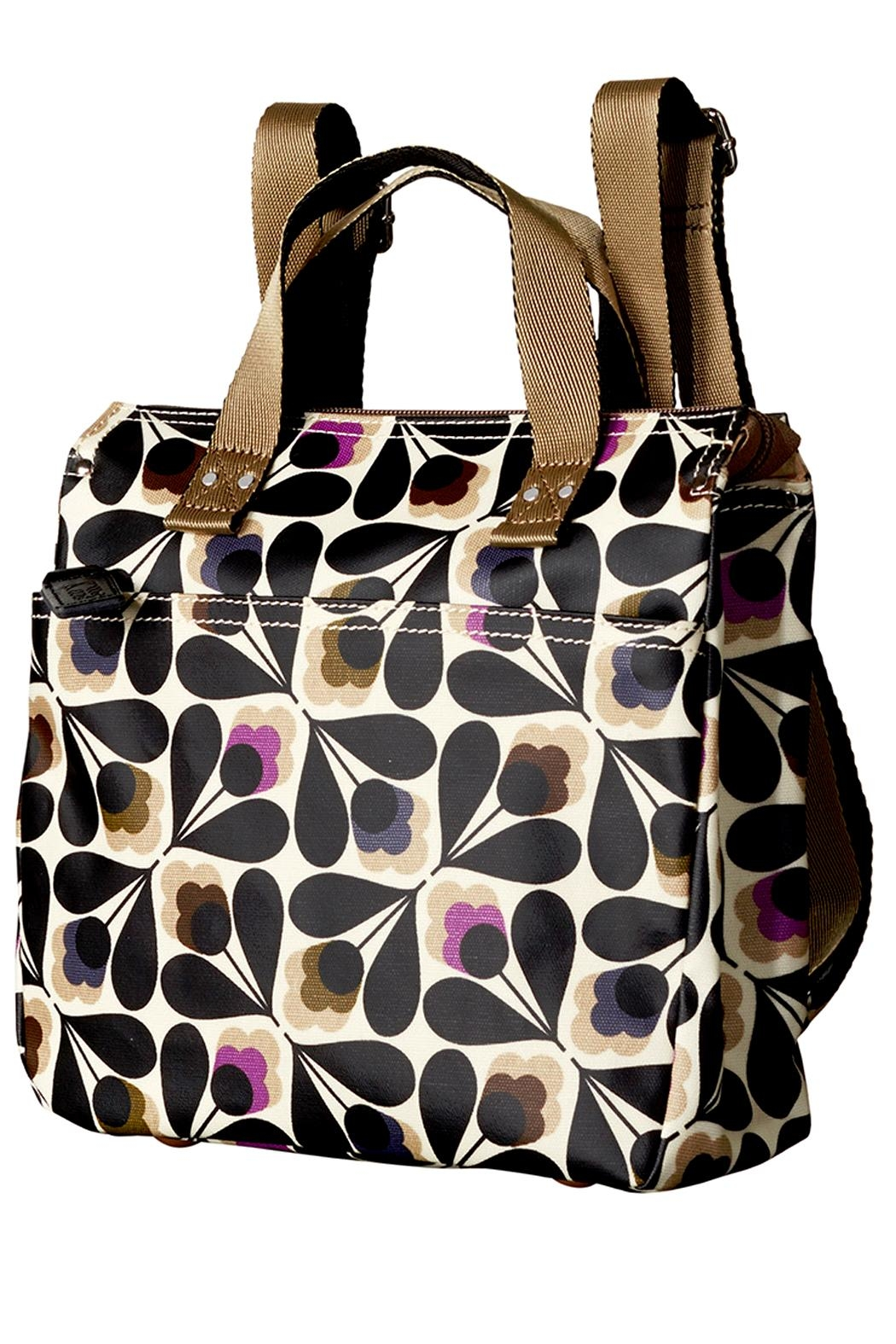 Orla Kiely Sycamore Small Backpack - Front Full Image