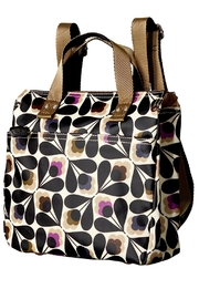 Orla Kiely Sycamore Small Backpack - Front full body