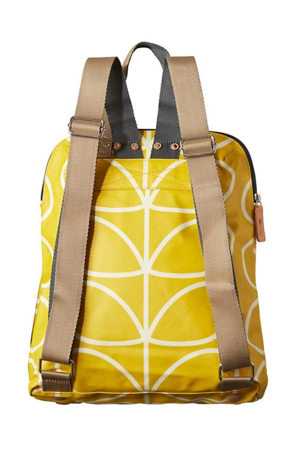 Orla Kiely Yellow-Stem Backpack from Seattle by STUHLBERGS — Shoptiques bd35e319d6450