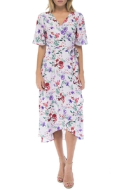 Bobeau Orna Floral Wrap-Dress - Front cropped
