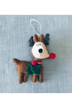 The Winding Road Ornament- Rudolph The Reindeer - Alternate List Image