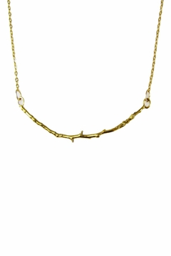 Shoptiques Product: Gold Twig Necklace