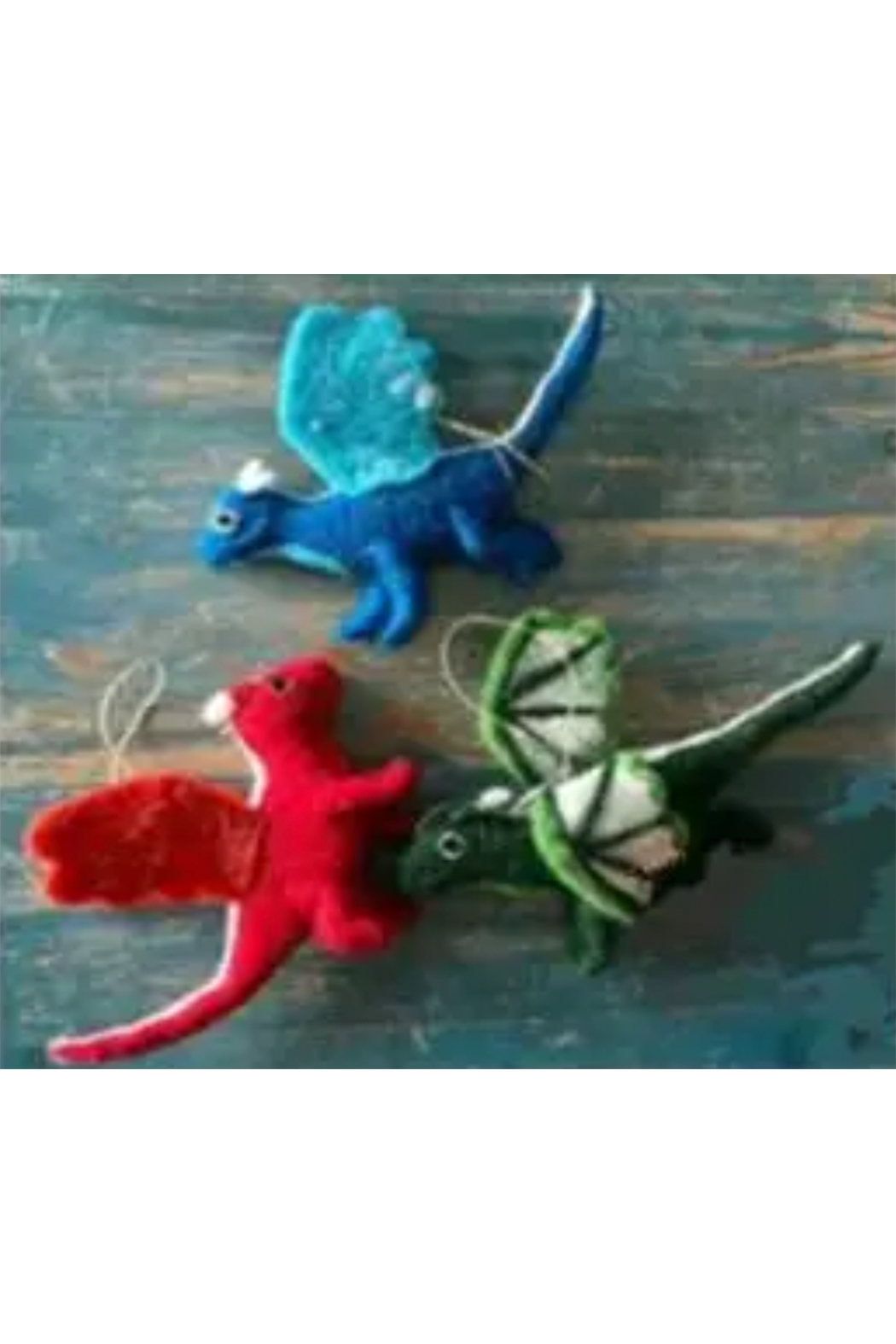 The Winding Road Ornaments- Dragons - Front Cropped Image