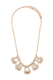 LA3accessories Ornate Statement Necklace - Other
