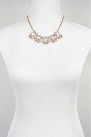LA3accessories Ornate Statement Necklace - Side cropped