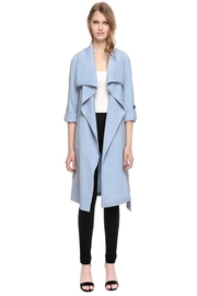 Soia & Kyo Ornella Draped Coat - Front cropped
