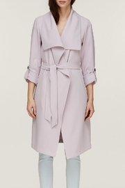 Soia & Kyo Ornella Draped Trench - Front full body
