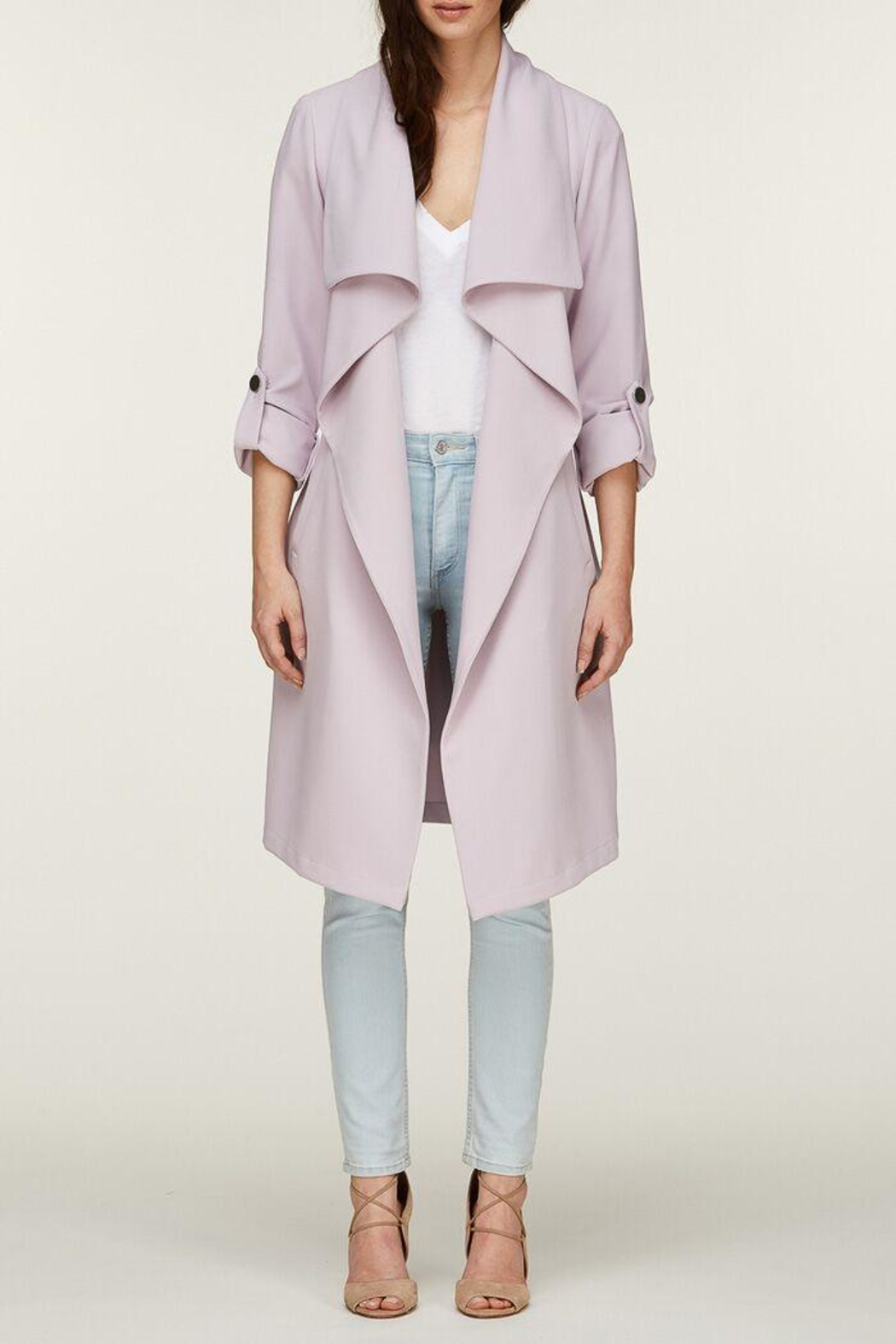 Soia & Kyo Ornella Draped Trench - Main Image