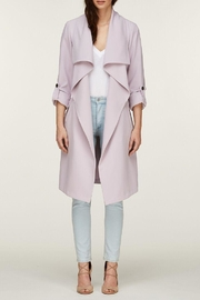 Soia & Kyo Ornella Draped Trench - Front cropped