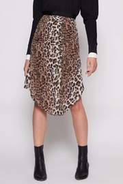 Joie Ornica Leopard Skirt - Product Mini Image