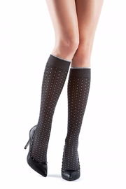 OROBLU Knee Highs Suzanne - Front cropped