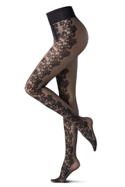 OROBLU Lace Flower Tights - Front cropped