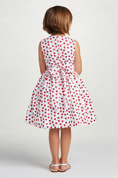 Oscar de la Renta Cherry Print Party Dress - Alternate List Image