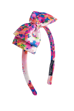 Oscar de la Renta Floral Bow Headband - Alternate List Image