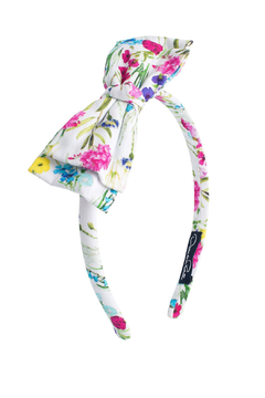 Oscar de la Renta Floral Headband - Alternate List Image