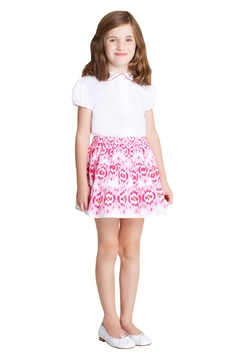 Oscar de la Renta Printed Tiered Skirt - Product List Image