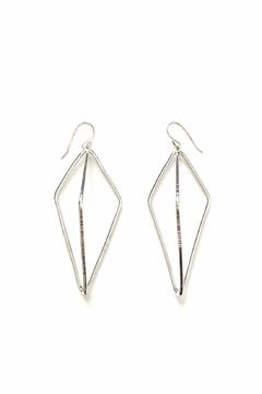 Oscar Galea Silver Earrings - Alternate List Image