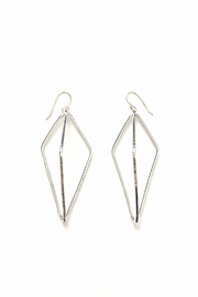 Oscar Galea Silver Earrings - Product Mini Image