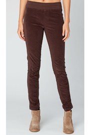 XCVI Wearables Oslo Corduroy Ruched Leggings - Product Mini Image