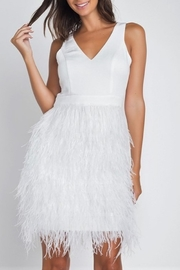 Minuet Ostrich Feather Dress - Product Mini Image