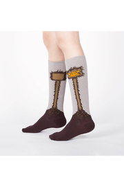 Sock it to me Ostrich Knee High Socks - Junior & Youth - Front cropped