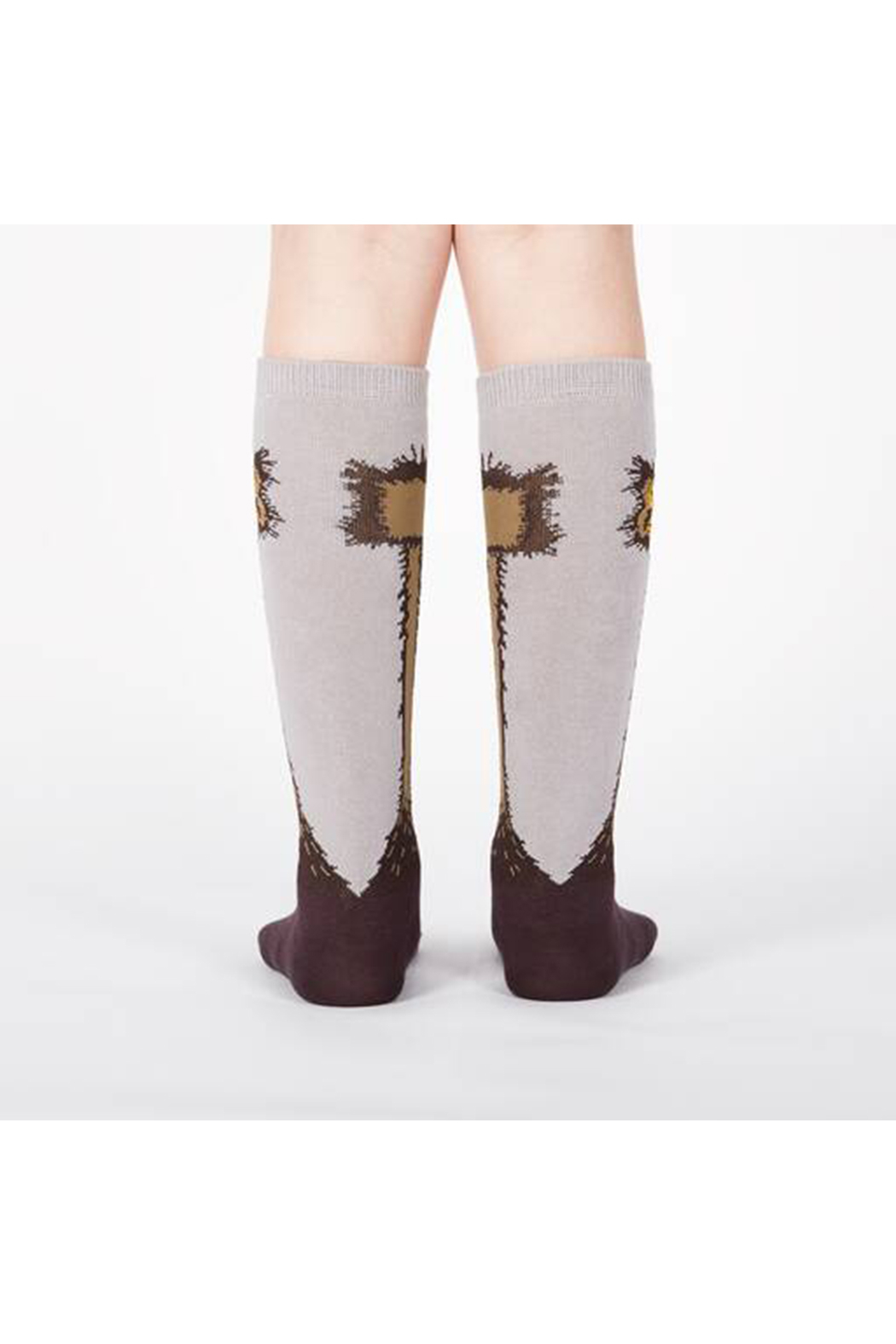 Sock it to me Ostrich Knee High Socks - Junior & Youth - Front Full Image