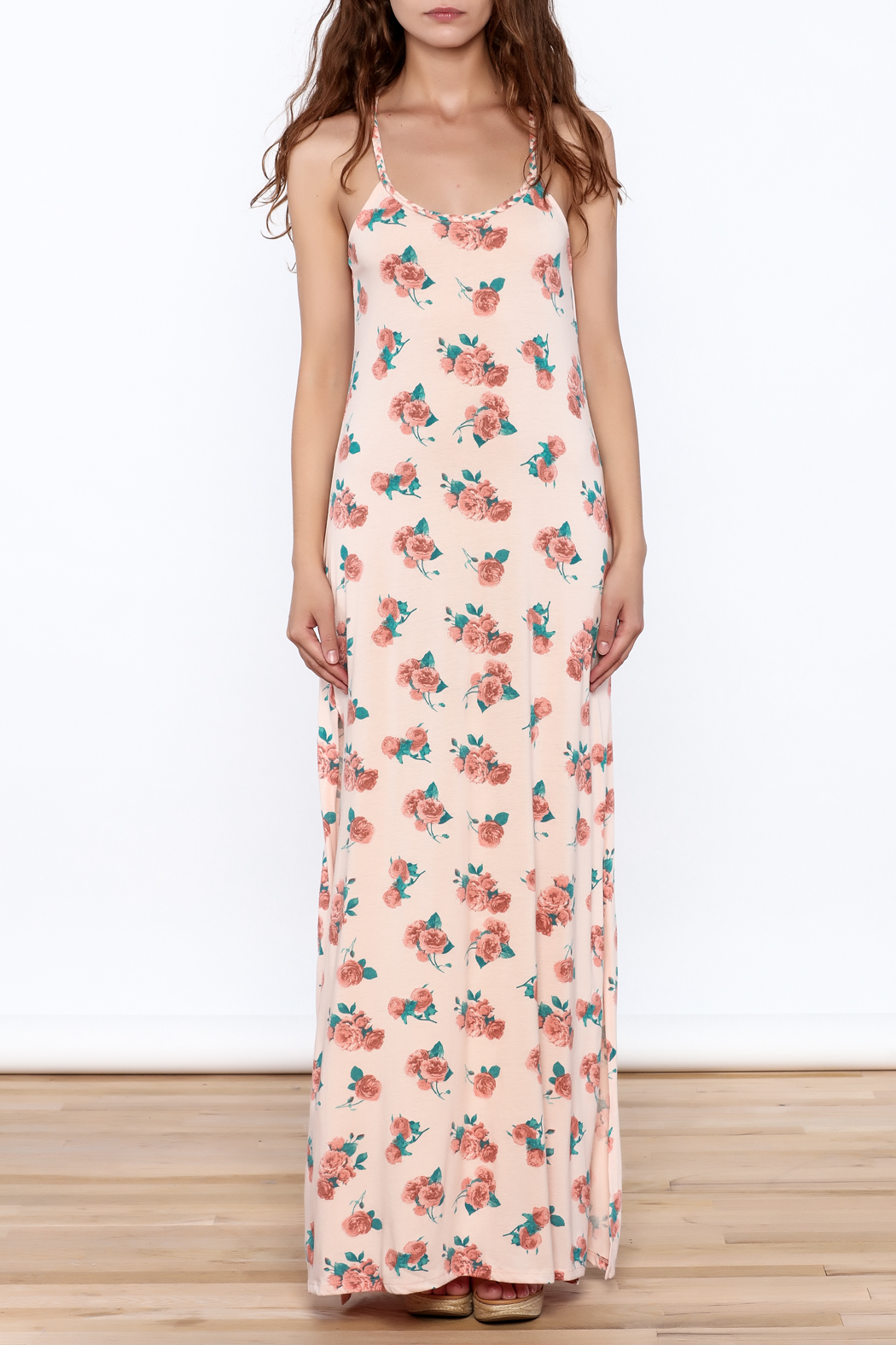 Others Follow  Callie Floral Maxi Dress - Front Full Image