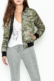 Others Follow  Camo Bomber Jacket - Product Mini Image