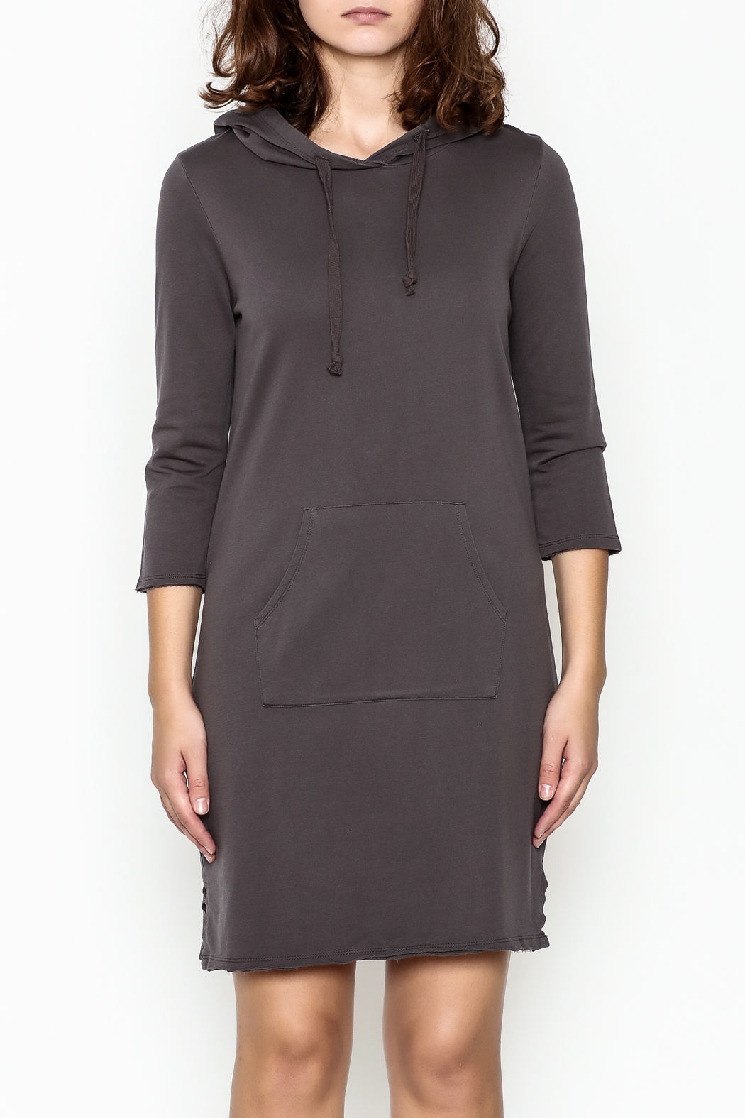 Others Follow  Hooded Pocket Tunic Dress - Front Full Image
