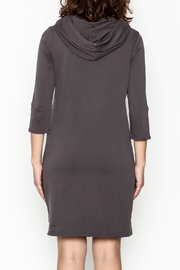 Others Follow  Hooded Pocket Tunic Dress - Back cropped