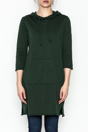 Others Follow  Hooded Pocket Tunic Dress - Front full body