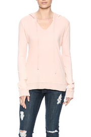 Others Follow  Pink Jordana Hoodie - Front cropped