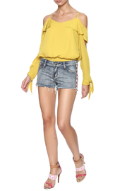 Others Follow  Willow Cut Off Shorts - Front full body