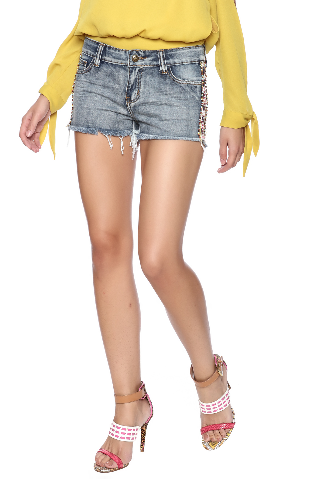 Others Follow  Willow Cut Off Shorts - Main Image