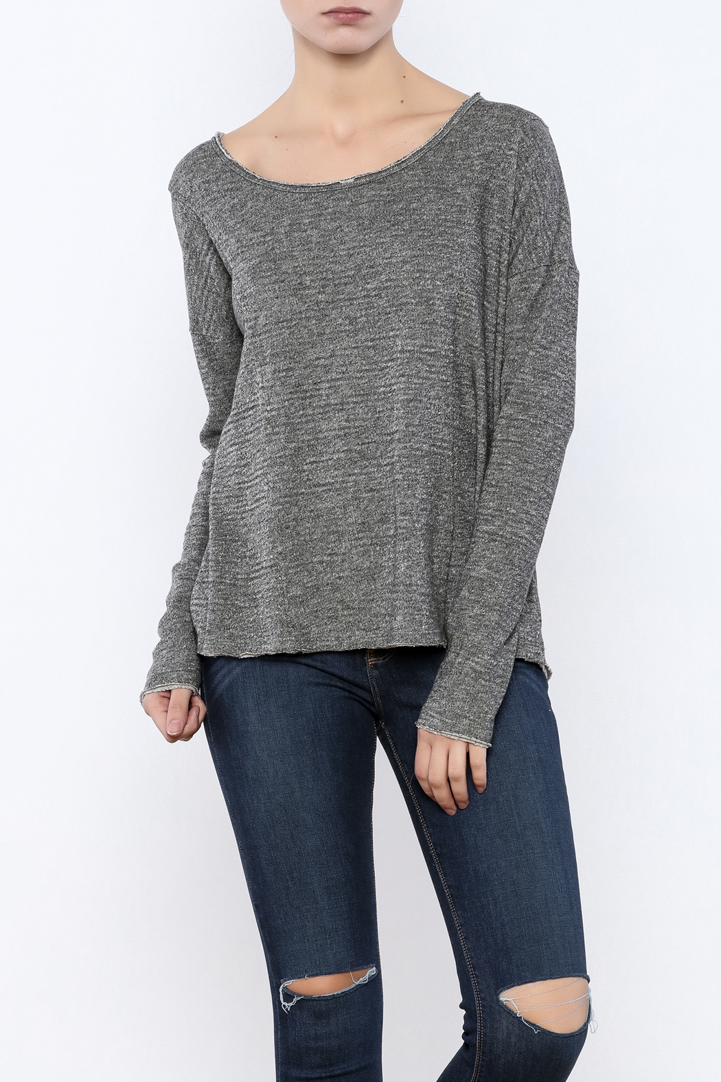 Others Follow  Winding Road Sweatshirt - Front Cropped Image