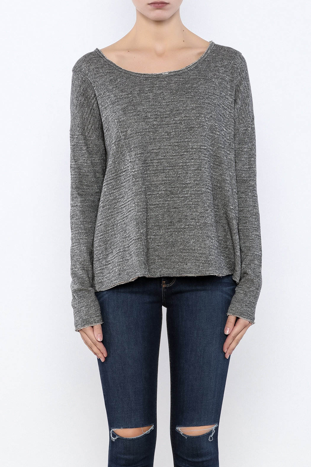 Others Follow  Winding Road Sweatshirt - Side Cropped Image