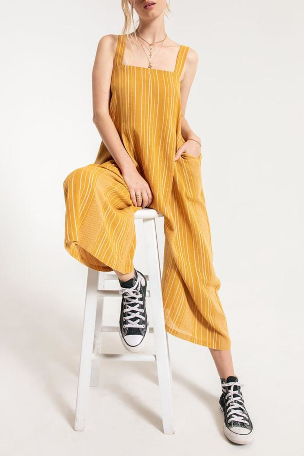 Others Follow  Bahamas Jumpsuit - Front Full Image