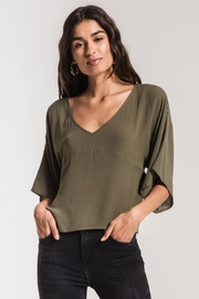 Others Follow  Bell Sleeve Top - Product Mini Image