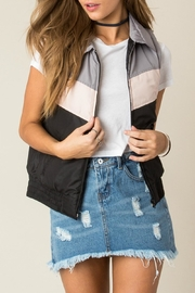 Others Follow  Black Collared Vest - Product Mini Image