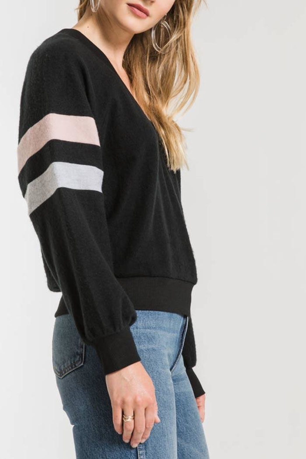 Others Follow  Carlise Pullover Top - Side Cropped Image