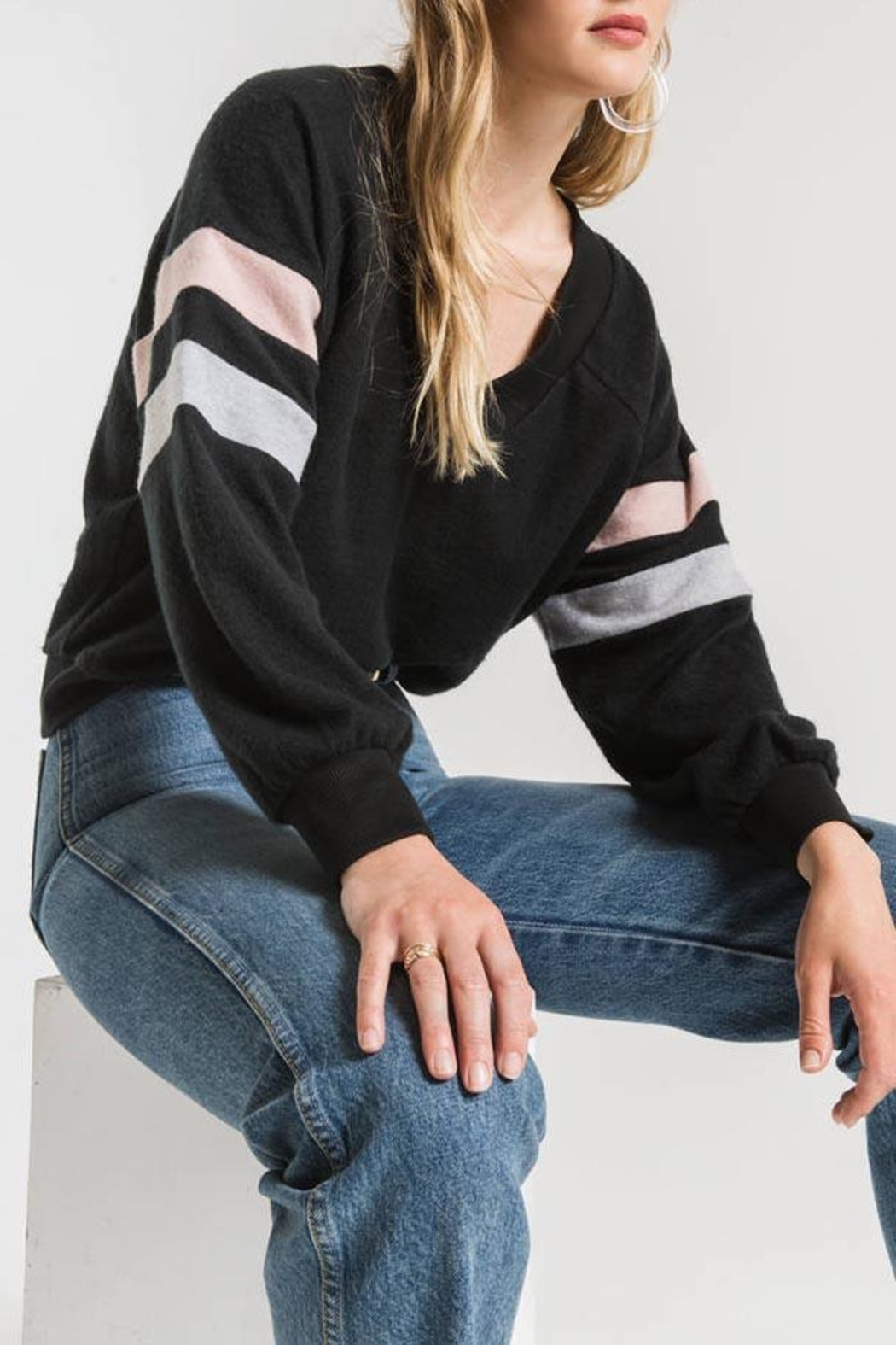 Others Follow  Carlise Pullover Top - Front Full Image