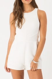 Others Follow  Chic Cream Romper - Product Mini Image
