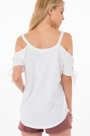 Others Follow  Clove Tie Tee - Front full body