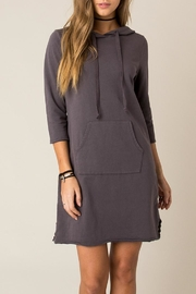 Others Follow  Cozy Sweatshirt Dress - Front cropped