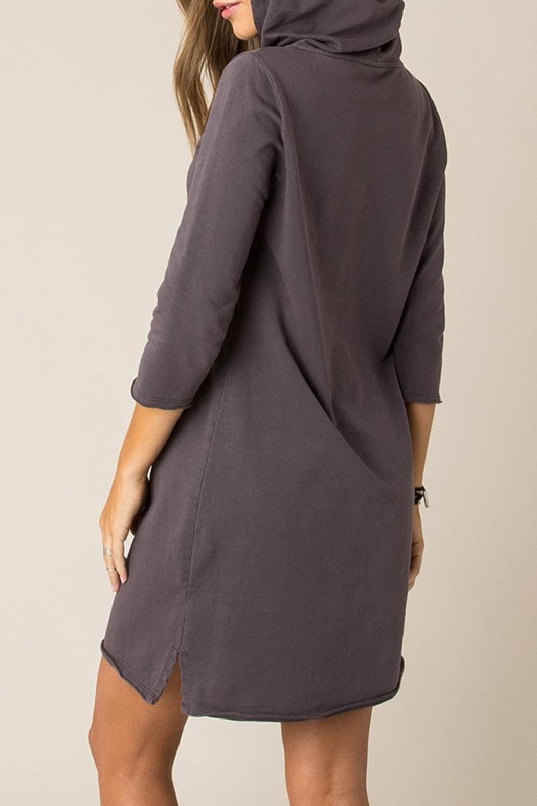 Others Follow  Cozy Sweatshirt Dress - Front Full Image