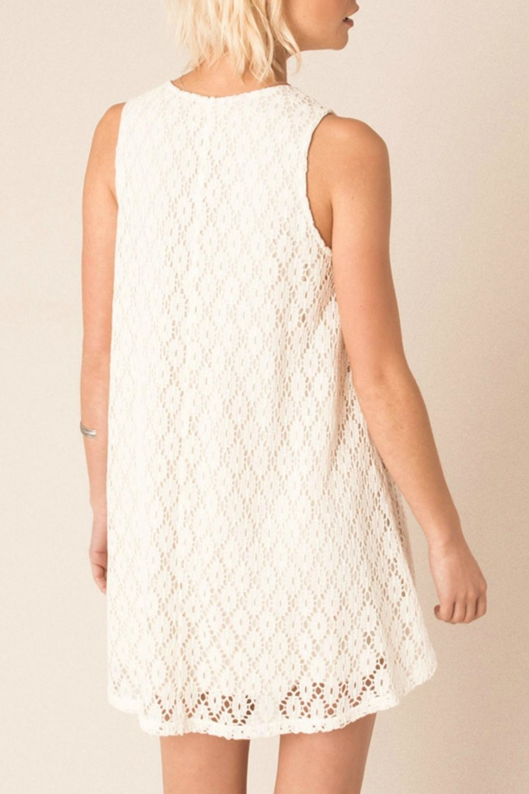 Others Follow  Cream Sunglow Dress - Side Cropped Image