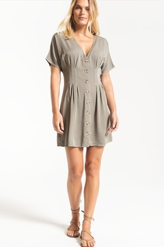Others Follow  Darted Button-Front Dress - Product List Image