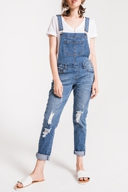 Others Follow  Distressed Denim Overalls - Product Mini Image